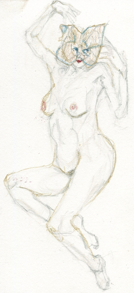 Nude in Mask