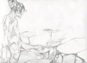 Peacock's Drummer