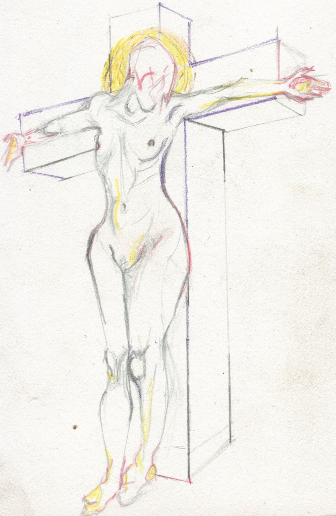 Crucifiction of Woman