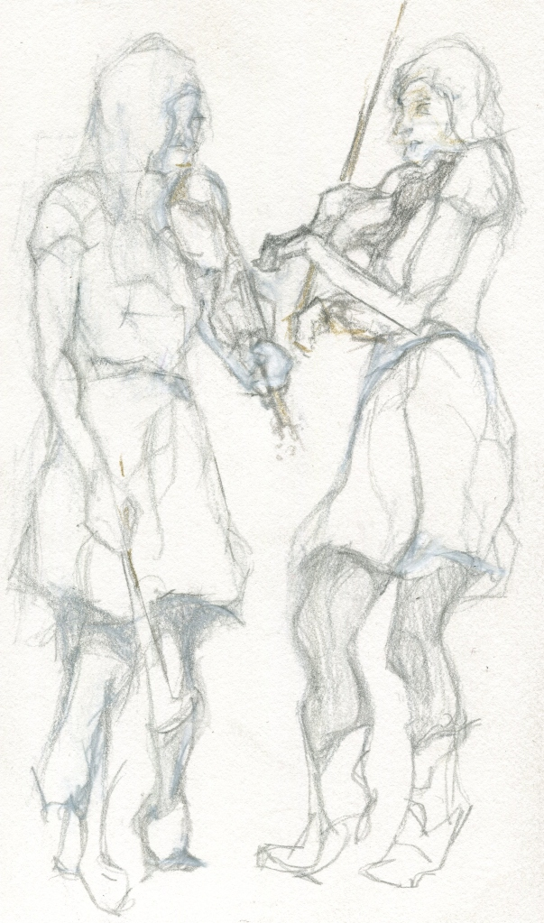 Dueling Violins