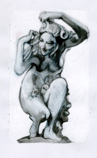 study-of-a-sculpture-as-a-mad-woman