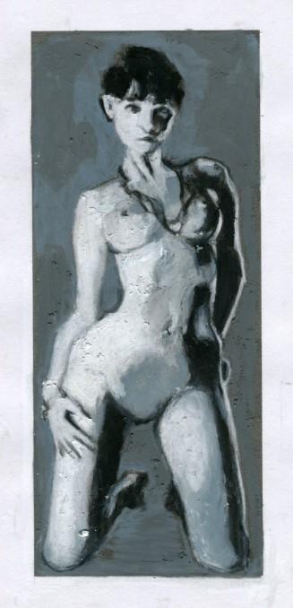 monochrome-nude