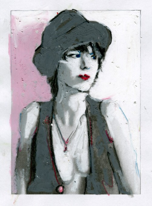 androgynous-in-hat-and-vest
